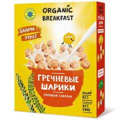 Компас здоровья завтрак сухой гречневые шарики 100г