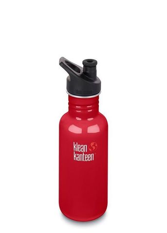Бутылка Klean Kanteen Classic Sport 18oz (532 мл) Mineral Red