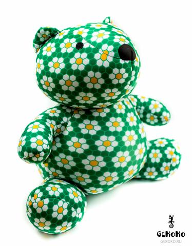 Подушка-игрушка антистресс «Сотовый медведь» 3