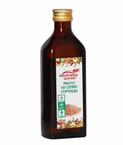 Масло из семян горчицы, 250 мл. (Житница здоровья)