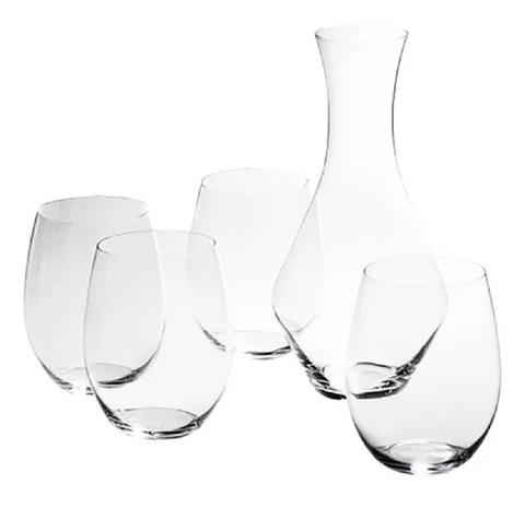 Набор для вина Viognier/Chardonnay 320 мл + Merlot  Decanter 970 мл артикул 5414/54. Серия  O Wine Tumbler