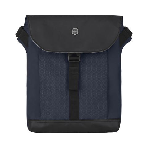 Сумка наплечная VICTORINOX Altmont Original Flapover Digital Bag, синяя, нейлон, 26x10x30 см, 7 л