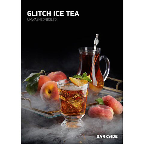 Табак для кальяна Dark Side Core 100 гр Glitch Ice Tea, магазин FOHM