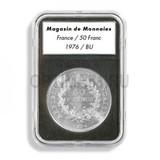 Прямоугольные капсулы EVERSLAB для монеты диаметром 19 mm