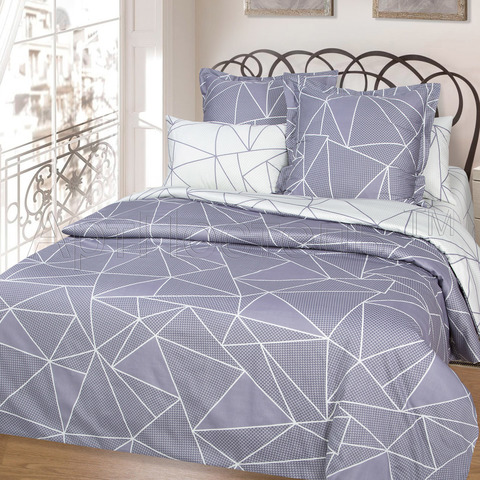 Комплект постельного белья 1,5 спальный Сатин Вентура