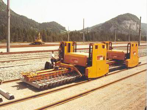 Портальный путеукладчик для реконструкции пути Robel PA 250