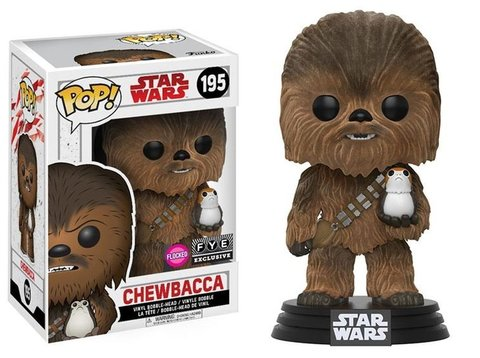 Chewbacca Star Wars Funko Pop! Vinyl Figure || Чубакка с поргом