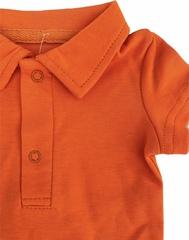 Боди поло (оранжевый)
