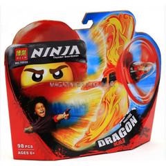 Конструктор Ninja Bela 10932 Мастер Драконов Джерело,98дет