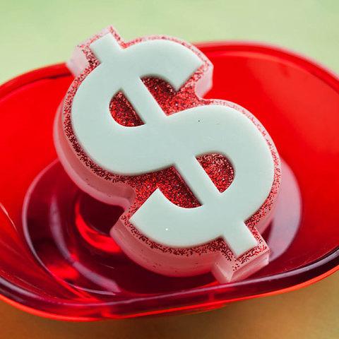 Мыло Доллар. Пластиковая форма