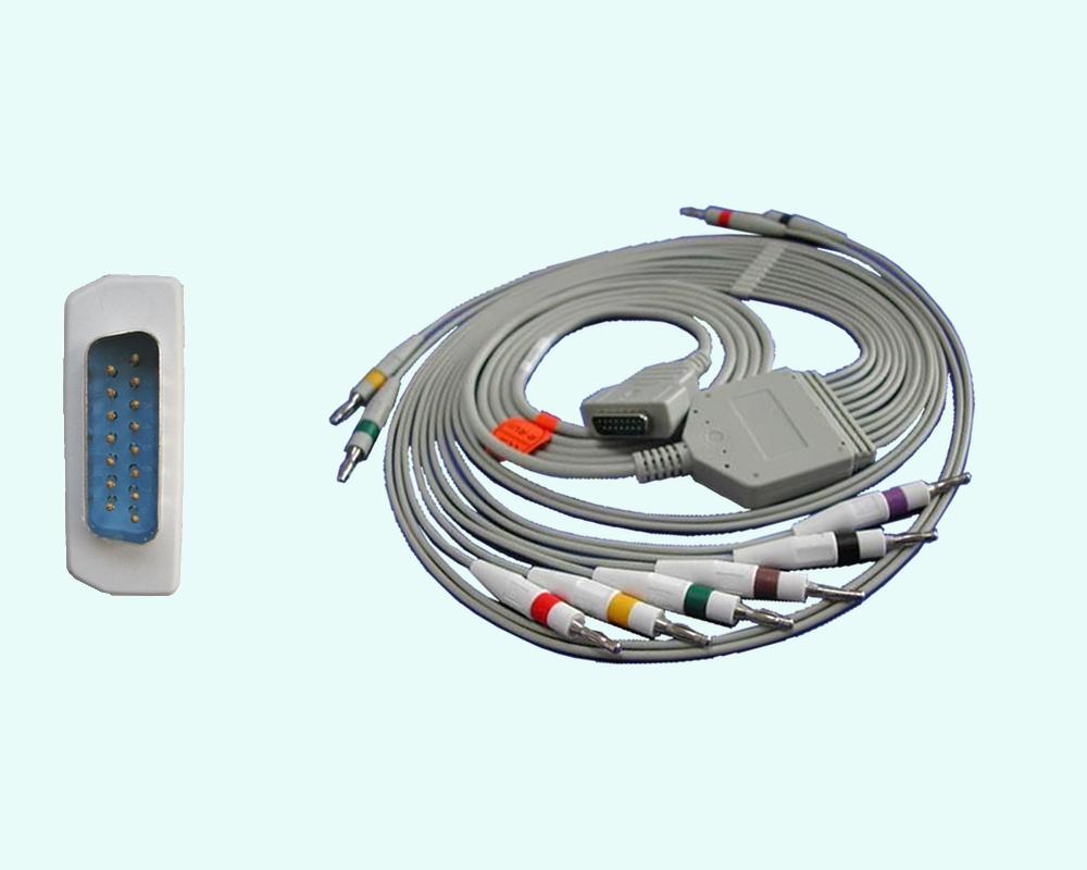 Кабель ЭКГ MAC-1200/MAC-500/МАС-5000... 10 отведений