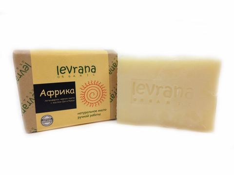 Levrana натуральное мыло, африка 100г