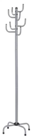 Вешалка для одежды напольная GC 0413-2 (серебристая)