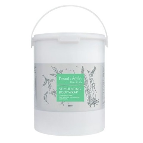 Обертывание для тела стимулирующее Ламинария-Белый чай Beauty Style Thalasso 3000г