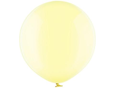 Большой шар кристалл желтый