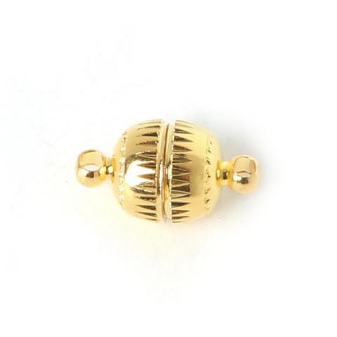 Магнитная застёжка 8 мм, золото