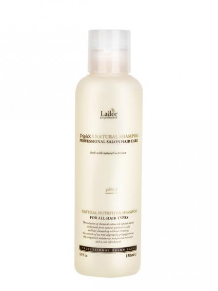 Lador Шампунь с натуральными ингредиентами Triplex Natural Shampoo 150ml ЛД39.jpg