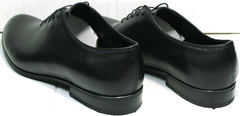 Красивые мужские туфли из натуральной кожи Ikoc 063-1 ClassicBlack