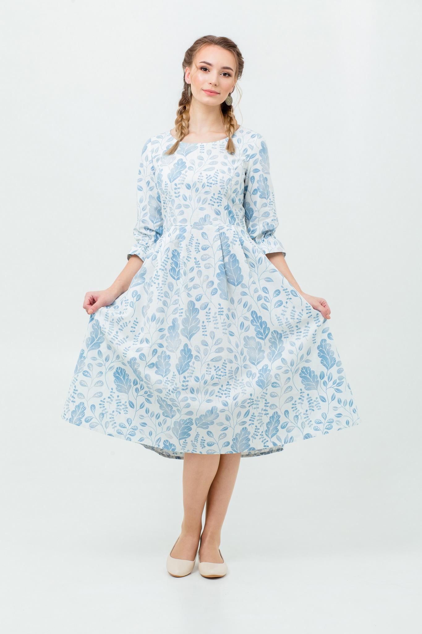 Платье в русском стиле Лесная красавица