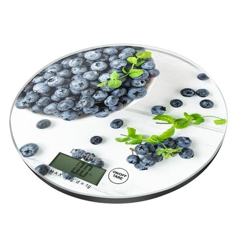 Весы кухонные сенсор {temp} LUMME LU-1341 черничная россыпь