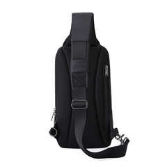 Рюкзак однолямочный повседневный КАКА 99021 чёрный