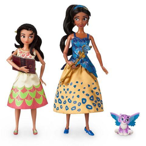 Набор кукол Дисней Елена из Авалора и Изабель (поющие) в магии кукол