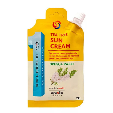 Солнцезащитный крем SPF50+ PA+++  EYENLIP Tea Tree Sun Cream SPF50+ PA+++