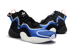 adidas Crazy BYW 'Black/White/Blue'