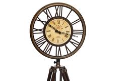Часы на треноге Secret De Maison  (mod. 46548) — античная медь/коричневый