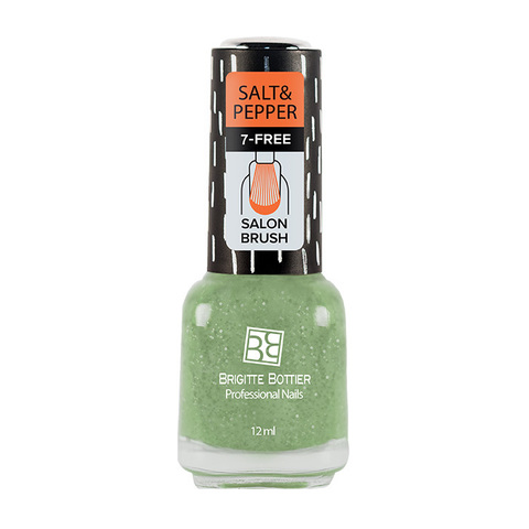 Brigitte Bottier Лак Salt & Pepper тон 510 соль мятная