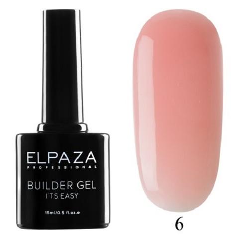 Моделирующий гель Builder Gel it's easy Elpaza, 15ml - 6