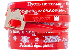 DUET CRYSTAL SNOW RED