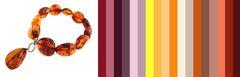с каким цветом сочетается коньячный янтарь - цветовая палитра для подбора одежды