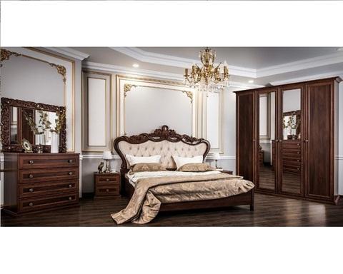 Спальня модульная АФИНА-4 караваджо