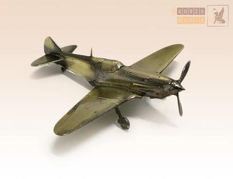 фигурка Самолет истребитель ЛаГГ-3 (1:144)