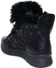 Женские зимние кроссовки с мехом