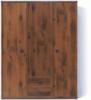Индиана JSZF3d2s Шкаф платяной (дуб шуттер)