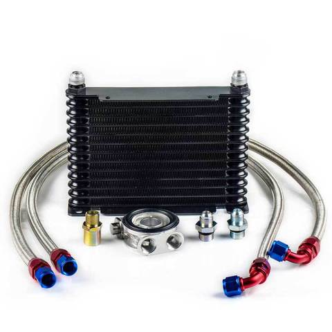 Комплект охлаждения масла 13 рядов, с термостатом проставка тип 4