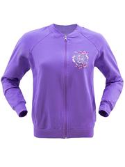 LT15-004п толстовка женская, фиолетовый