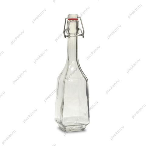Бутылка 0,5 л «Дикий гусь» с бугельной крышкой
