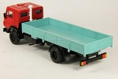 KAMAZ-5325 red-turquoise Elecon 1:43
