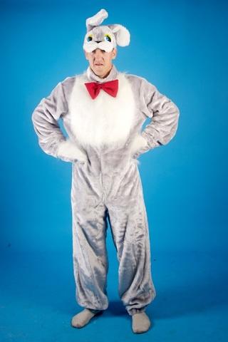 Карнавальный костюм Заяц серый 2