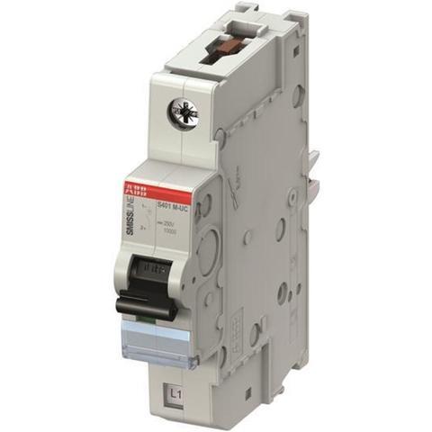 Автоматический выключатель 1-полюсный 16 А, тип C, 10 кА S401M-UC C16. ABB. 2CCS571001R1164