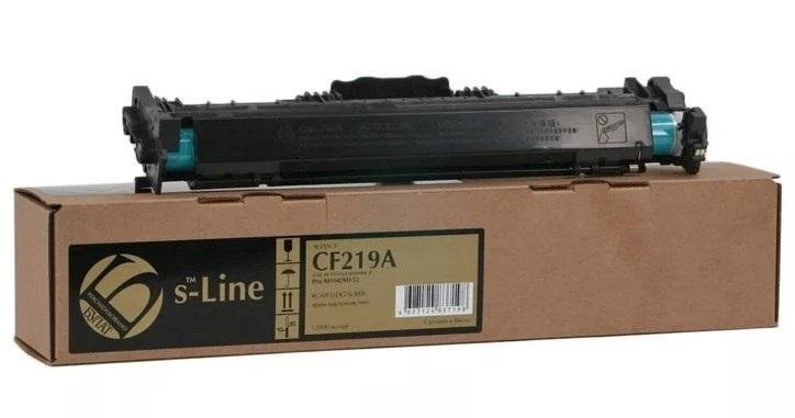 БУЛАТ s-Line №19A CF219A, DRUM без  ЧИПА !!!, черный, для HP, до 12000 стр.