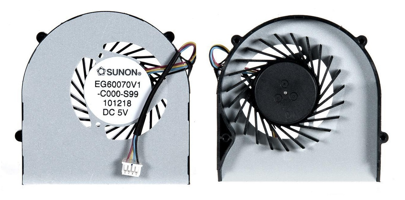 Вентилятор (кулер) для ноутбука Lenovo U160, U165, S205
