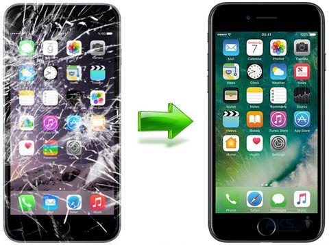 Замена разбитого стекла на дисплее для iPhone 8 и iPhone 8 PLUS