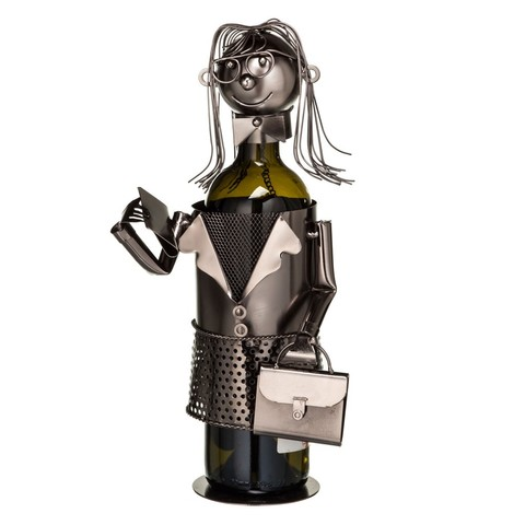 Подставка для бутылки «Бизнес вумен»