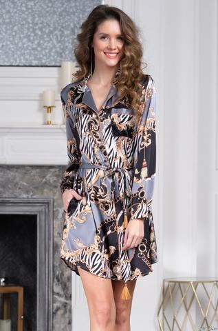 Рубашка-халат Mia-Amore 8727