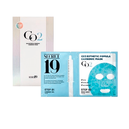 Карбокситерапия (Esthetic House Secret19 Co2 Esthetic Formula Carbonic Mask)