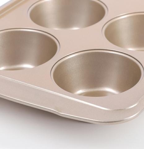 Форма металлическая для капкейков 6 яч